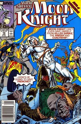 Marc Spector Moon Knight #10 1990 FN Stock Image