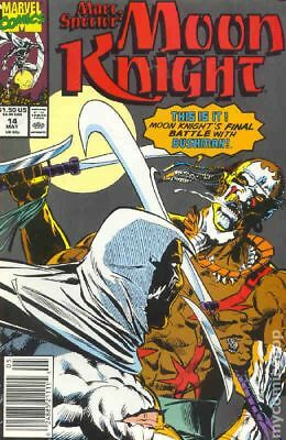 Marc Spector Moon Knight #14 1990 FN Stock Image