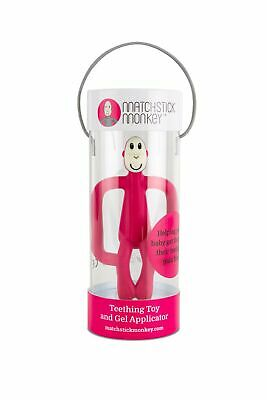 Matchstick Monkey RUBIN RED Teething Toy and Gel Applicator
