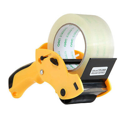 "2"" inch Packing Tape Gun Dispenser Cutter Pack Carton Sealer Packaging Parcel"