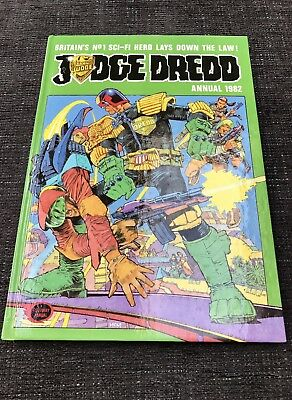 Judge Dredd Annual 1982, Hardcover VERY RARE IN THIS CONDITION