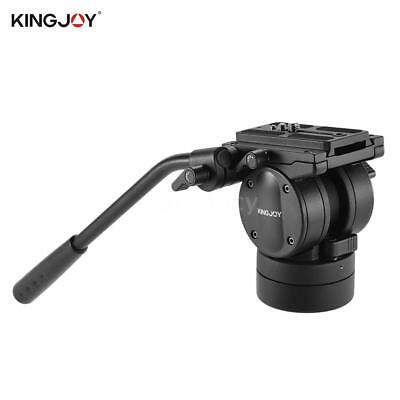KINGJOY DSLR Camera Video Tripod Monopod 360° Fluid Hydraulic Damping Ball Head