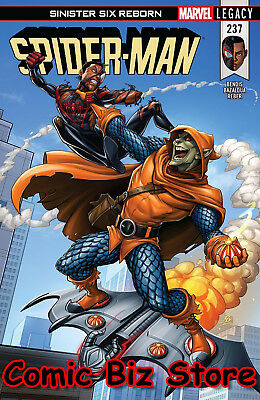 Spider-Man #237 (2018) 1St Printing Bagged & Boarded Marvel Legacy Tie-In