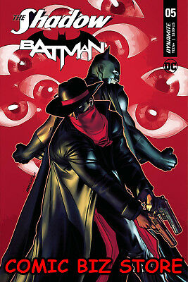 The Shadow Batman #5 (Of 6) (2018) 1St Printing Peterson Cover A Dc/dynamite