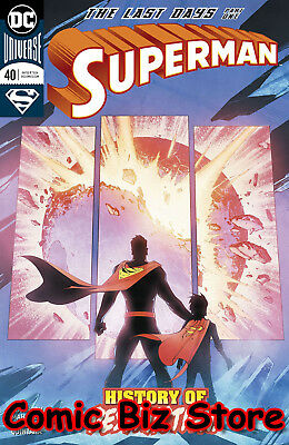 Superman #40 (2018) 1St Printing Bagged & Boarded Dc Universe Rebirth