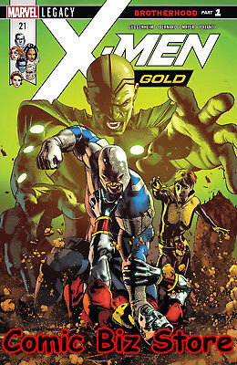 X-Men Gold #21 (2018) 1St Printing Bagged & Boarded Marvel Legacy Tie-In