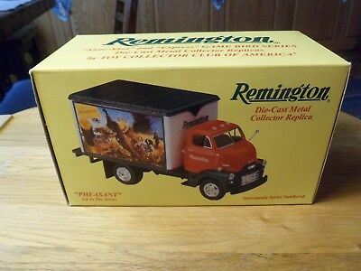 "1994 ERTL Remington Die Cast Collector Truck ""Pheasant"" NOS  NIB"