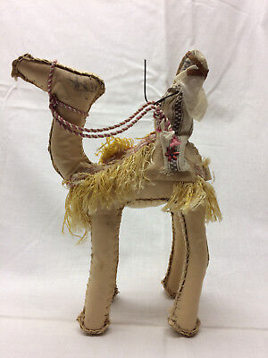 "Camel with Rider 6 1/2"" X 9 1/4"" Tan Souvenir"