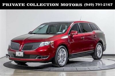 2014 Lincoln MKT EcoBoost Sport Utility 4-Door 2014 Lincoln MKT EcoBoost 1 Owner Clean Carfax Well Kept