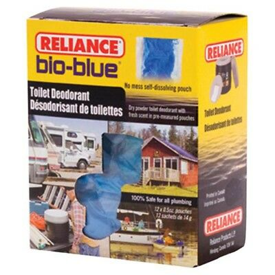 Reliance Bio Blue Toilet Deodorant 12-pack