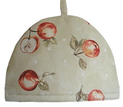 Teapot Cosy- Large, Apple Blossom, 100% cotton, insulated, washable
