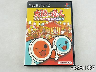 Taiko no Tatsujin 1 Dodon Playstation 2 Japanese Import Japan JP PS2 US Seller B