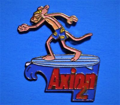 Pink Panther - Surfing - Axion 2 - Vintage 1991 United Artist Lapel & Hat Pin