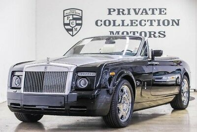 2008 Rolls-Royce Phantom Drophead Coupe Convertible 2-Door 2008 Rolls Royce Phantom Drophead 25k Original Miles Clean Carfax