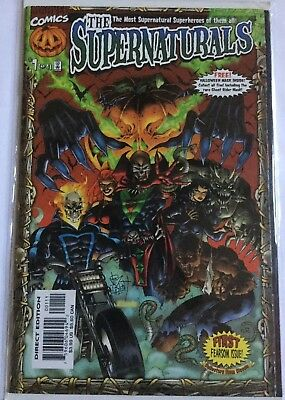 The Supernaturals #1! In VF/NM Condition! Ghost Rider! Satana! Brother Voodoo!