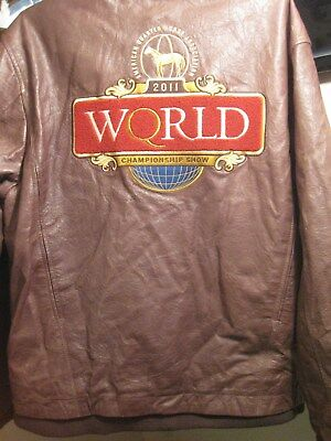 American Quarter Horse Association World Championship Show 2011 Leather Jacket