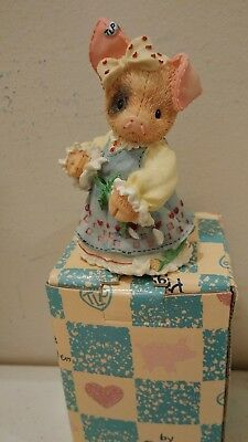 Enesco This Little Piggy Figurine NIB 1995 Sow In Love 159514