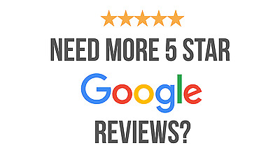 5 Star Google Review, Directory Listings, 50 High Ranking Backlinks, Testimonial