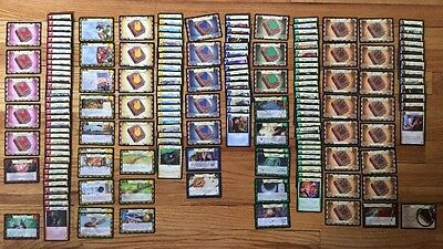 Harry Potter Trading Cards 160+ Lot Lessons Items Quidditch Foil Snitch