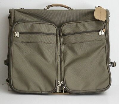 NEW Briggs & Riley 'Baseline - Deluxe' Garment Bag (22 Inch) Suit Case - Olive