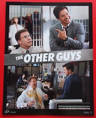 The Other Guys (2010) - Set of 8 Lobby Cards - Will Ferrell & Mark Wahlberg