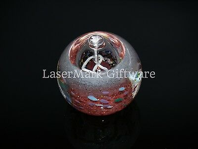 Bohemian Crystal Oil Candle - Red