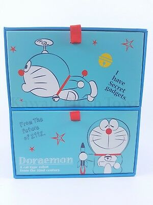 Doraemon Storage Box Double Drawer Super Cute Brand New from Japan