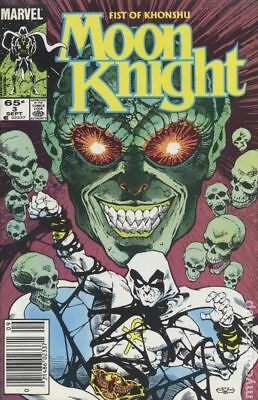 Moon Knight (2nd Series) Fist of Khonshu #3 1985 FN Stock Image