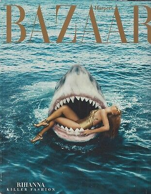 Harper's Bazaar Rihanna Killer Fashion March 2015