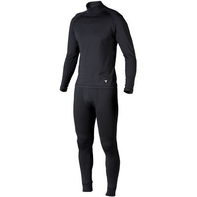 Dainese Air Breath D1 Mens Under Suit 2-pc Set Black
