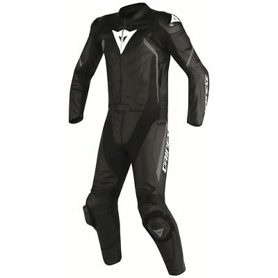 Dainese Avro D2 Two-Piece Leather Suit Black/Black/Anthracite
