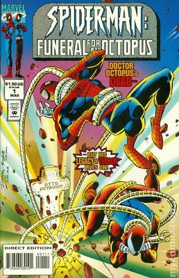 Spider-Man Funeral for an Octopus #1 1995 FN Stock Image
