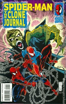 Spider-Man The Clone Journal #1 1995 FN Stock Image