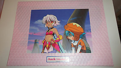 .hack//LEGEND OF TWILIGHT Shuugo Rena Rilezu Anime Cel RARE US Seller Bandai