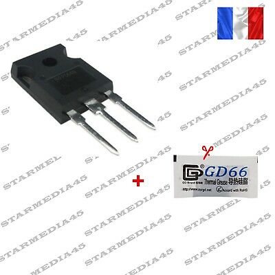 TRANSISTOR IRFP064N pour chauffage clim Peugeot Renault Citroen + Pate Ther (82)