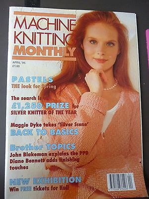 Machine Knitting Monthly - April 1995