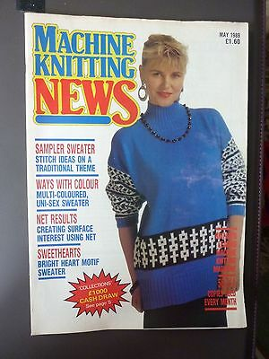 Machine Knitting News - May 1989