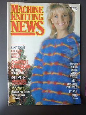 Machine Knitting News - December 1988
