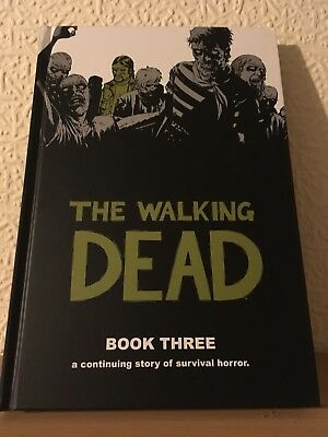 The Walking Dead Book 3 Hardcover Excellent Condition