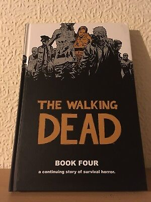 The Walking Dead Book 4 Hardcover Excellent Condition