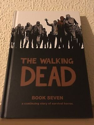 The Walking Dead Book 7 Hardcover Excellent Condition