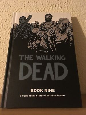 The Walking Dead book 9 Hardcover Excellent Condition