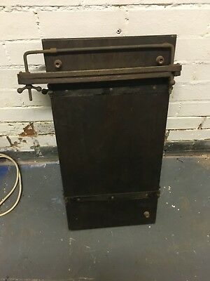 Antique Wood Trouser Press Vintage shabby prop upcycle