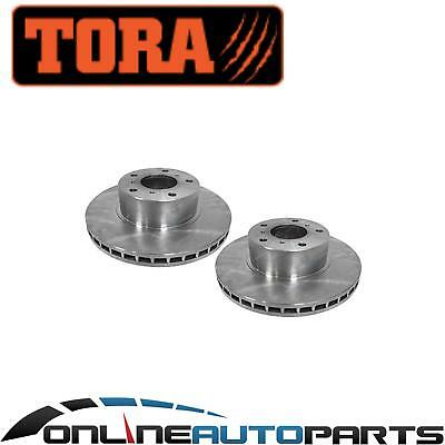 2 Front Disc Rotors Holden Statesman Caprice WH WK WL V6 V8 - New Pair
