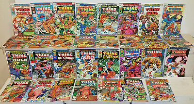 Marvel Two-In-One The Thing #27 to 67 Bronze Age Marvel Comics Lot F to VF
