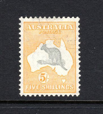 VICTORIA ASC 75b;1890 1d YELLOW Stamp Duty V/Crown Perf 12½, Fine Used.cv $390