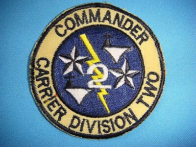 Vietnam War Patch Us Navy Commander Carrier Division 2