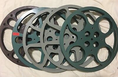 16mm film reels - 1200' - Lot of 5 - FREE SHIPPING