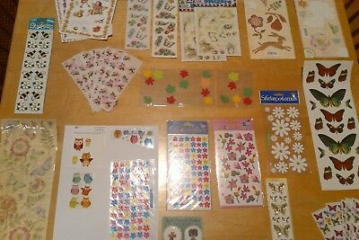 Lot Nature and Spring Papercrafting Scrapbooking  Stickers