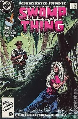 Swamp Thing (2nd Series) #54 1986 VF Stock Image